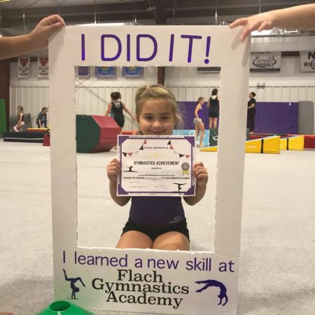 gymnastic class new skill - East Greenbush